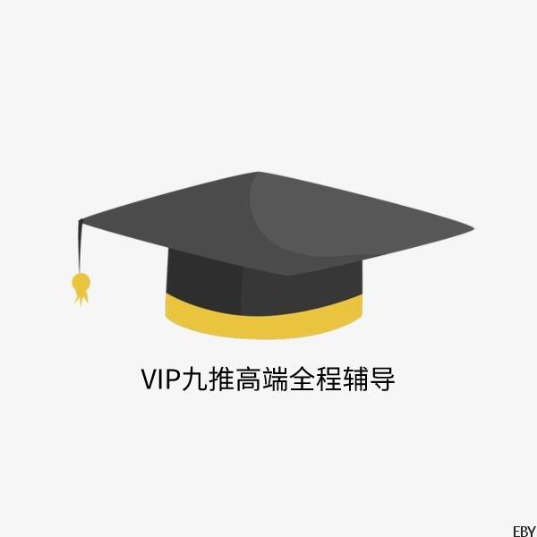 VIP九推高端全程辅导